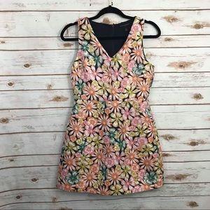 Banana Republic Spring Floral Sleeveless Dress